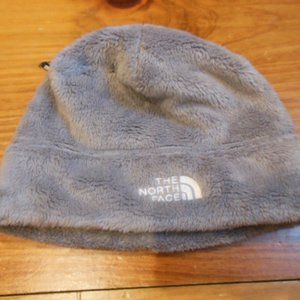 THE NORTH FACE Youth M Gray Minky Fleece Hat Cap